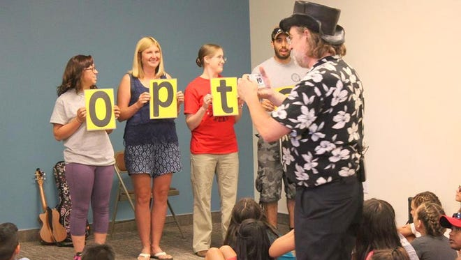 The Summer Reading Program at the Silver City Library was funded by the Friends of the Library.