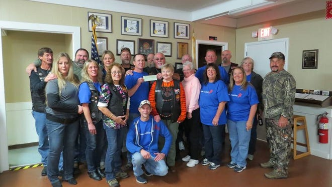 Mountain Home Moose Riders, along with Loyal Order of the Moose, Women of the Moose and friends recently held a breakfast fundraiser for baby Adrian Bailey and family which brought in $3,156 and a previous donation of $700 for a total of $3,856. Baby Adrian is battling leukemia. The funds raised will go to the family to help them deal with the financial challenges brought about by the disease. The Moose Riders would like to thank all who helped and attended this event.