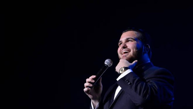 Sal Valentinetti will be performing at the Wellmont Theater in Montclair on June 2.