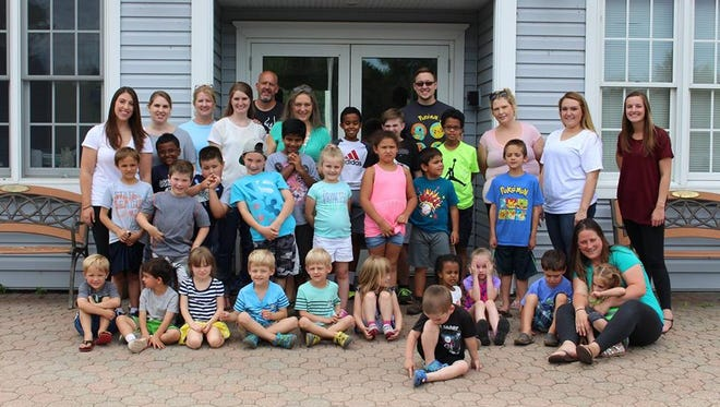 Stefanie Reuter-Hutchins and Reach Summer Camp last year.