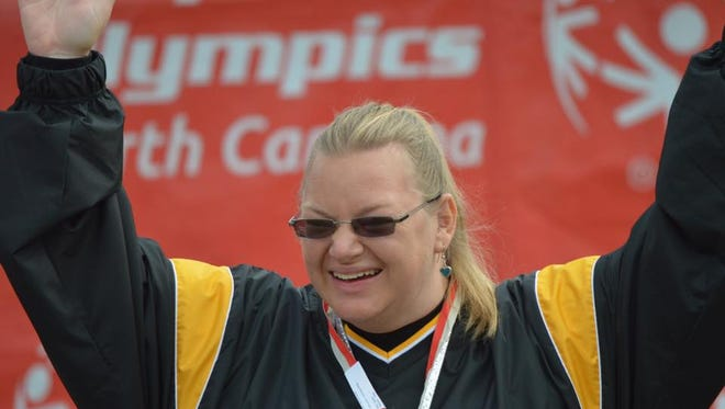 Sarah Male was one of 48 athletes representing Team North Carolina in the 2014 Special Olympics USA Games.