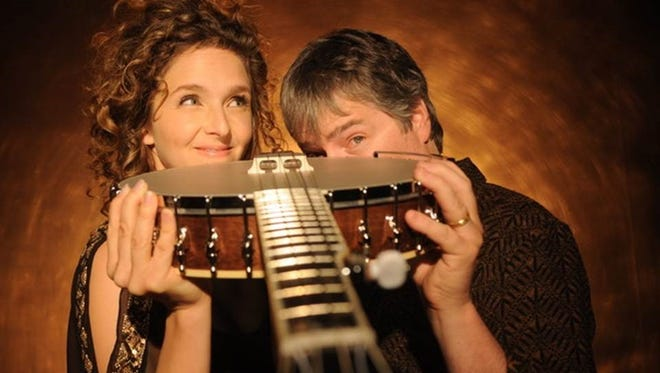 Purdue Convocations will present a concert by Béla Fleck and Abigail Washburn, known as the king and queen of the banjo, at Loeb Playhouse on February 8, 2019.