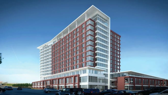 HCA planned office tower in the North Gulch.