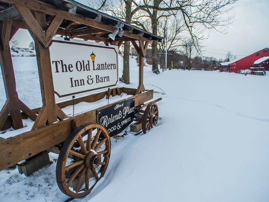 The Old Lantern Inn & Barn on Greenbush Road in Charlotte.