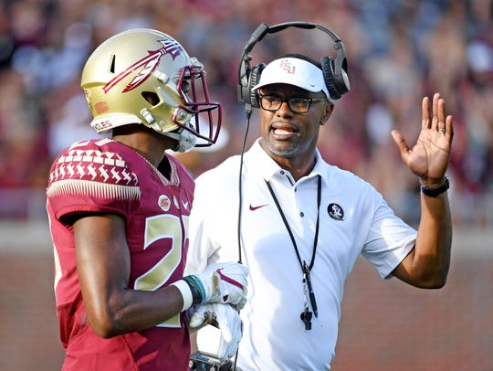 First-year Florida State coach Willie Taggart talks