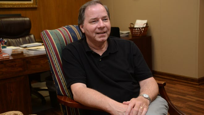 Argile Smith, who has been interim president of Louisiana College for the past 10 months, will step aside as Rick Brewer, who has been named the president of Louisiana College, is set to begin his new role Tuesday, April 7, 2015.