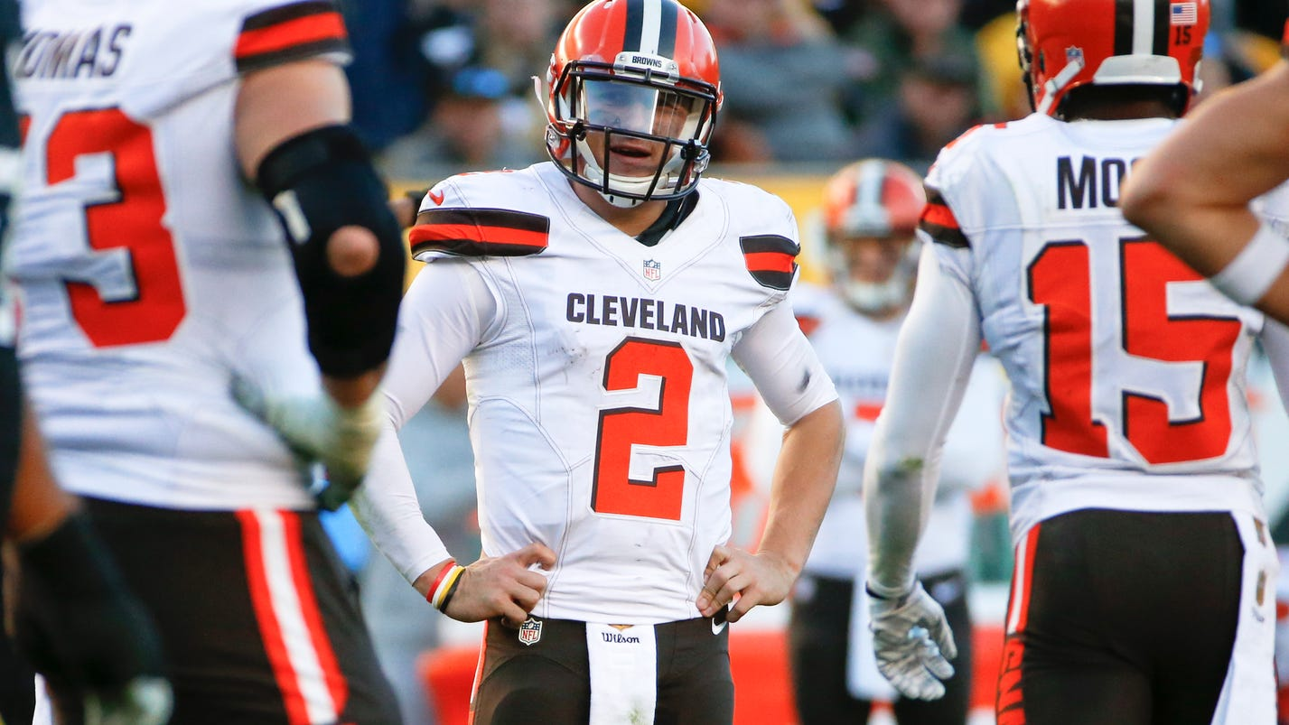 Johnny Manziel Benched By Browns For Off-field Behavior