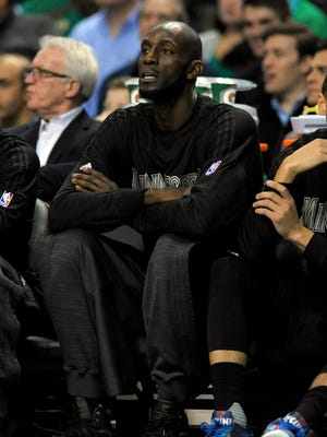 Kevin Garnett says he'd like to be in the Minnesota Timberwolves ownership group, just not with the current owner.
