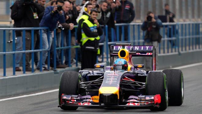 Sebastian Vettel, who won the last nine races of 2013 en route to his fourth Formula One title, has struggled in preseason testing in Spain this week.