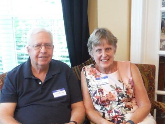Anniversaries: John A Johnson & Lucy Johnson