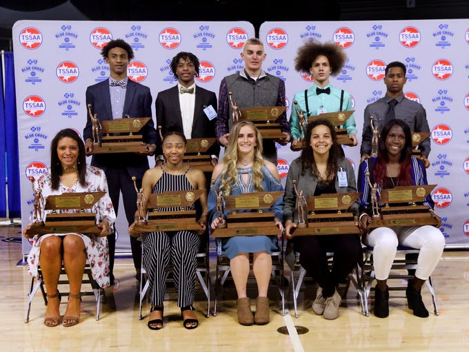 Mr and Miss Basketball players were awarded at MTSU