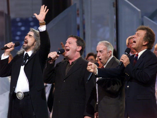 The Bill Gaither Vocal Band and Friends sing before