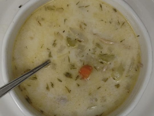 Chicken and Wild Rice Cream Soup