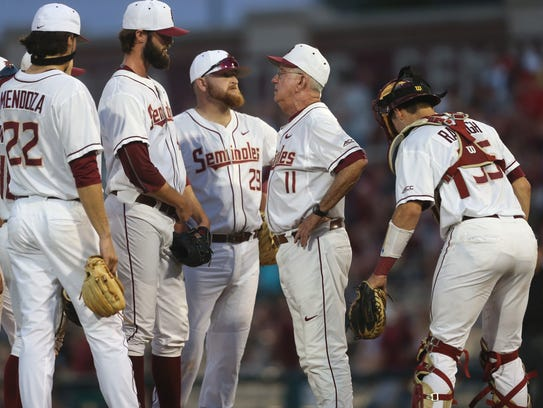 The Florida State baseball team has now lost seven