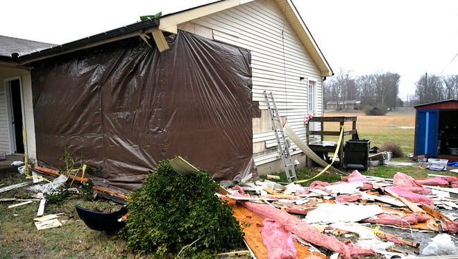 A vehicle crashed into Marisa and Jeremy Howell's bedroom early Saturday morning.