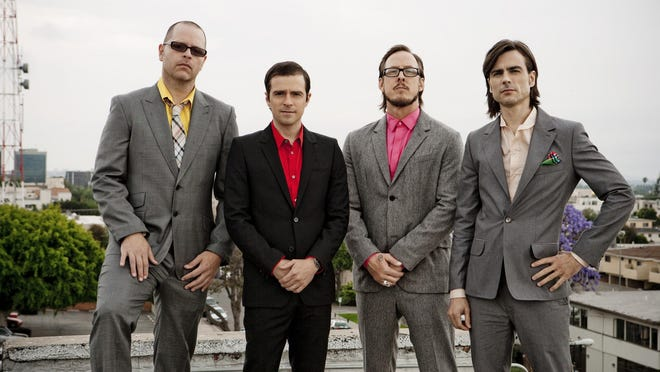 Weezer returns to central Iowa after 13 years away.