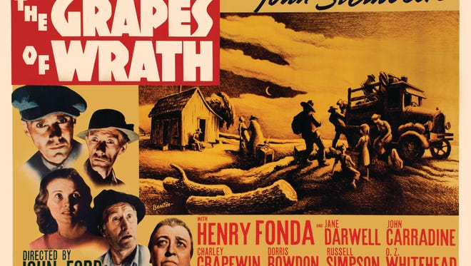 """A poster of the 1940 film """"The Grapes of Wrath"""" will be part of 'The Rennard Strickland Collection of Western Film History' that's coming to the Western Spirit: Scottsdale's Museum of the West on June 20, 2017."""