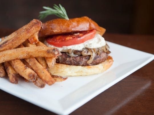 The Center Square Burger at Center Square Tavern in
