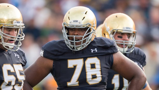 Notre Dame offensive lineman Ronnie Stanley.