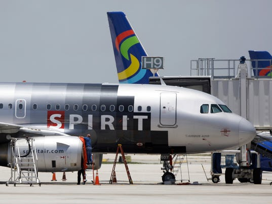 Spirit Airlines flying to Seattle and Oakland