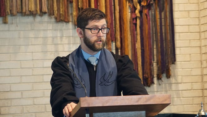 Rev. Sam Teitel was chosen Sunday as new pastor of First Unitarian Church of Memphis.
