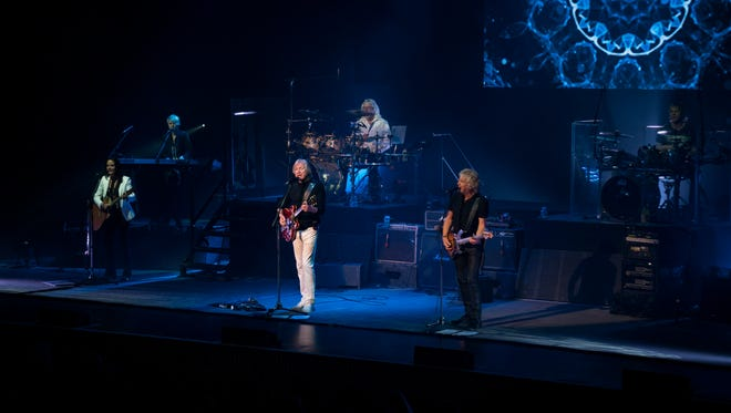 """The Moody Blues launched a tour in celebration of the 50th anniversary of its album, """"Days of Future Passed,"""" with three members of the original band."""