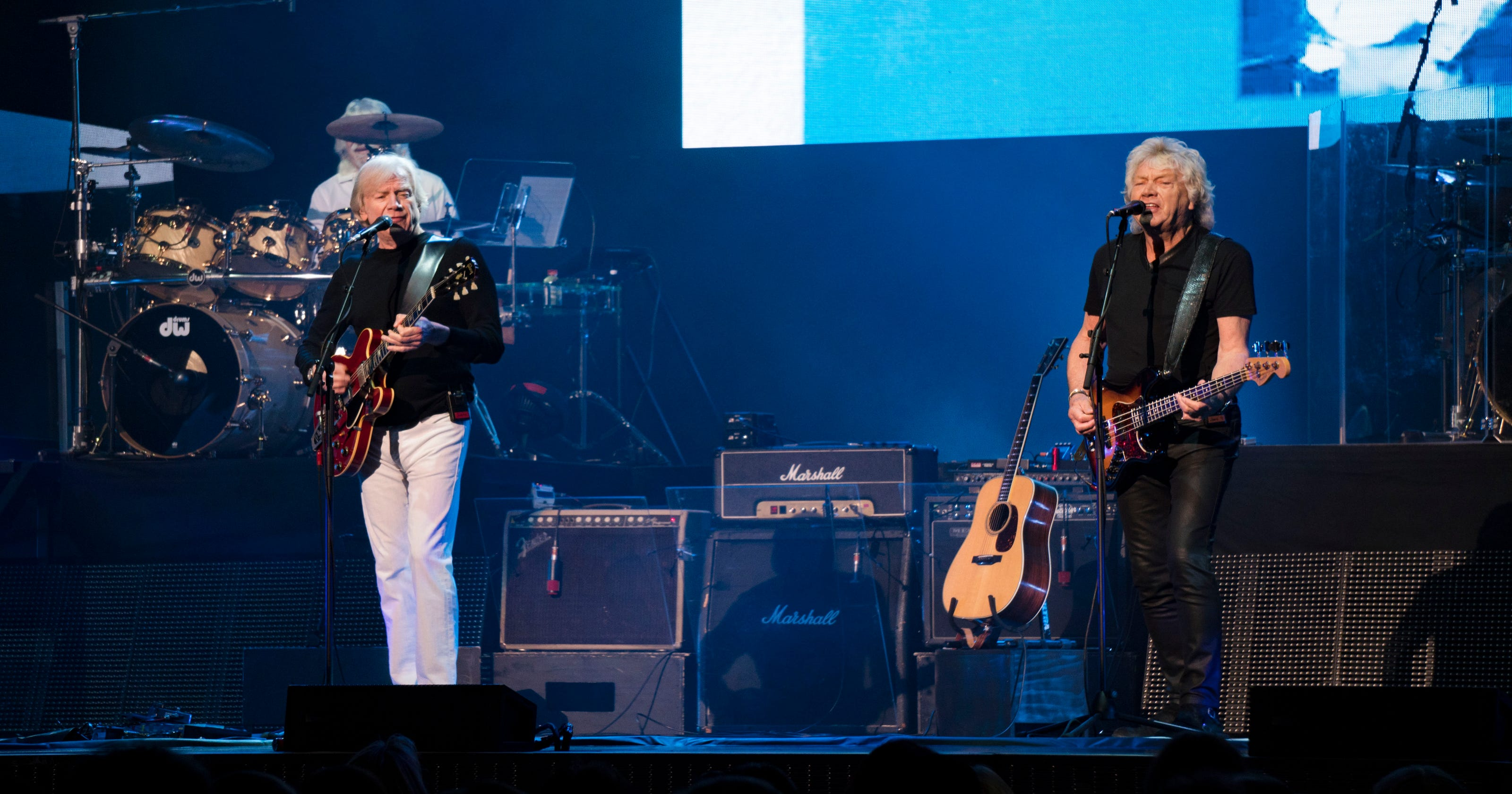 Review: Moody Blues fall flat on tour debut celebrating 50th