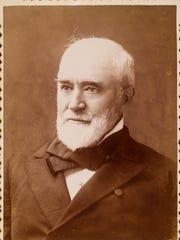 Portrait of Asahel Bush II by Myra E. Sperry, an early