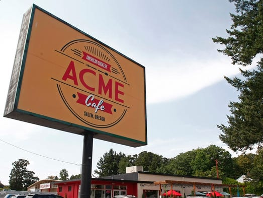 Business is good at Acme Cafe, in South Salem, on Wednesday, Aug. 14, 2014.