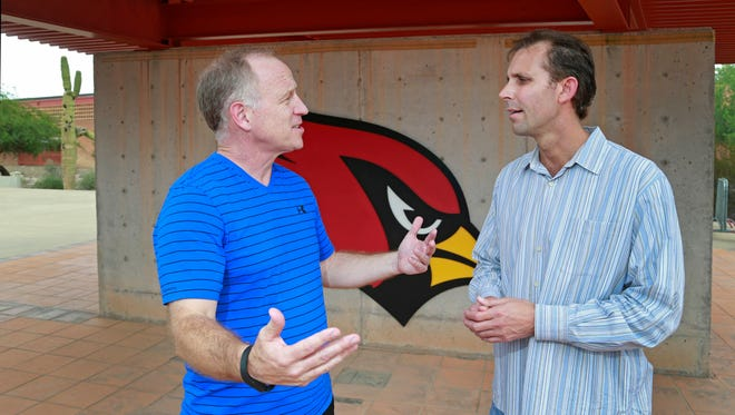 Cardinals insiders Kent Somers and Mike Jurecki.