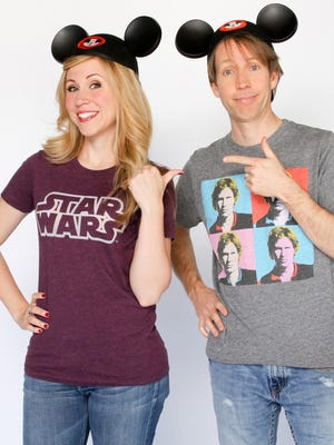 Star Wars Weekends 2014 celebrities include James Arnold Taylor and Ashley Eckstein.