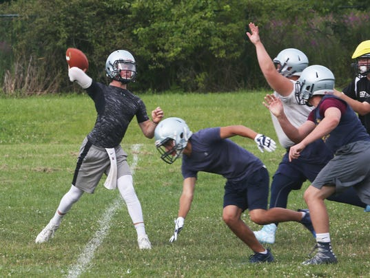 JOHN JAY EAST FISHKILL FOOTBALL PRACTICE