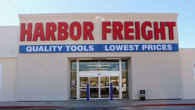 Harbor Freight Tools at White Sands Mall officially opened its doors for business Tuesday.