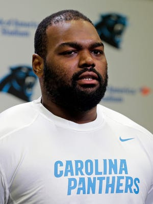 Michael Oher has played in the NFL for eight seasons.
