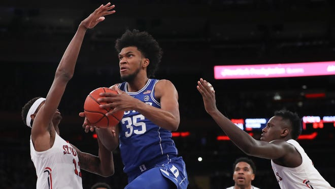 Where will Duke's Marvin Bagley III get picked in the 2018 NBA draft?