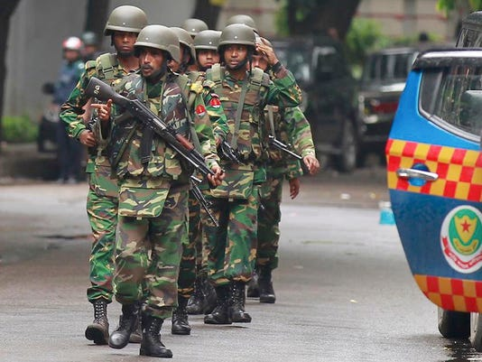 Bangladesh Attack Police Armed Forces