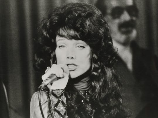 "Sissy Spacek portrays country singer Loretta Lynn in ""Coal Miner's Daughter."""