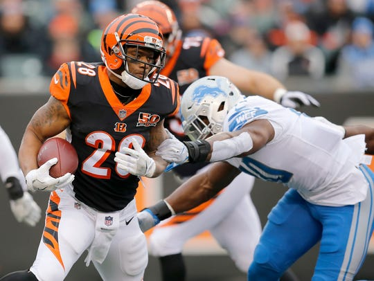 Running back Joe Mixon will take over the primary running back position in 2018.