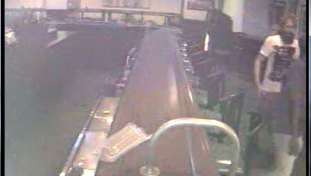 Clarksville Police are looking for this suspect in an attack at The Pinnacle bowling alley
