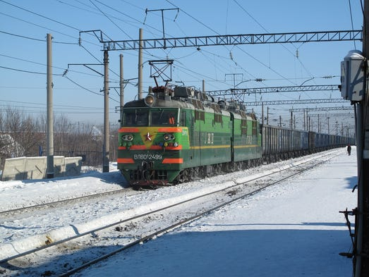 Covering more than 5,700 miles, the Trans-Siberian
