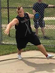 Livingston Christian's Paxton Titus had the best shot put and discus performance of the decade in Livingston County.