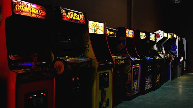 The Coin Jam is a Salem barcade featuring a variety of arcade and pinball games.