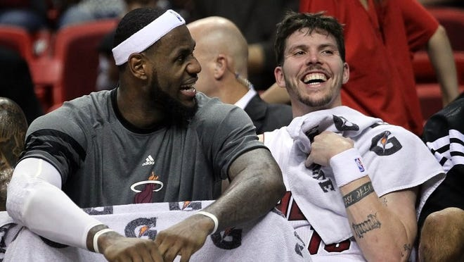 LeBron James and Mike Miller could be reunited through free agency.