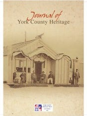 Journal of York County Heritage 2012