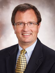 Dr. Scott Nygaard, chief medical officer of Lee Memorial Health System.