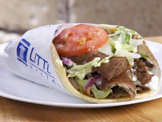 Little Greek restaurant food