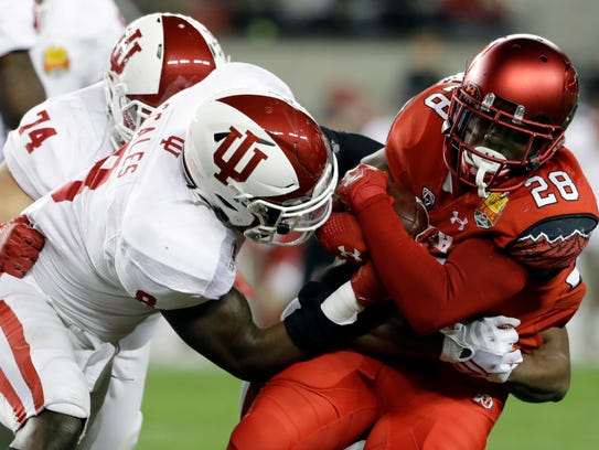 Indiana's top defensive player is linebacker Tegray