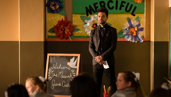 Dominic Cooper as Jesse Custer on 'Preacher.'