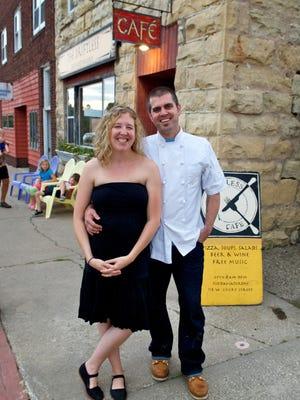 Luke Zahm and his wife, Ruthie, own Driftless Cafe in Viroqua.