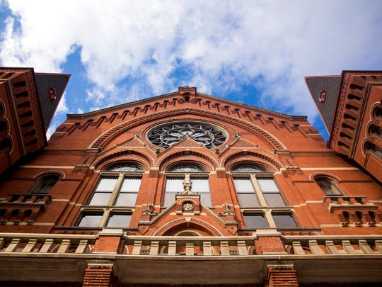 """Thousands attend the ArtsWave free community open house, """"Re(New)ed celebration for Music Hall and More,"""" from 10 a.m. to 3 p.m. Saturday, October 7, 2017. The event featured guided tours and performances of Music Hall, which reopened Friday, October 6, 2017 after a 16-month renovation."""